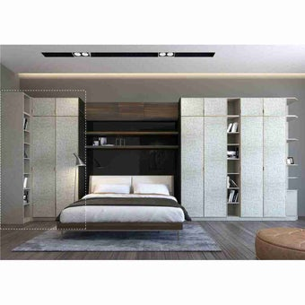 ซีรีย์ตู้เสื้อผ้า ซีรีย์ตู้ผ้า WD Plus รุ่น Wardrobe Plus สีสีขาว-SB Design Square