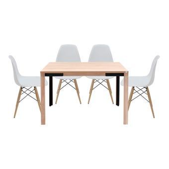 ชุดโต๊ะอาหาร รุ่น Coupe & เก้าอี้ Soto