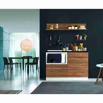 ชุดครัว ชุดครัว Kourmet รุ่น Kourmet สีสีน้ำตาล-SB Design Square