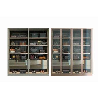 ตู้โชว์ ขนาด 200 ซม. รุ่น Wardrobe Plus -01