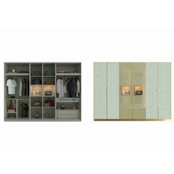 ตู้เสื้อผ้า ขนาด 300 ซม. รุ่น Wardrobe Plus -01