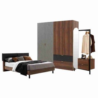 ชุดห้องนอน ขนาด 6 ฟุต รุ่น Tavern-01