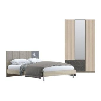 ชุดห้องนอน ชุดห้องนอน รุ่น Econi สีสีโอ๊ค-SB Design Square