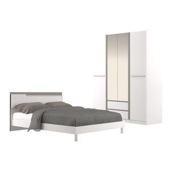 ชุดห้องนอน ชุดห้องนอน รุ่น Ricchi สีสีขาว-SB Design Square