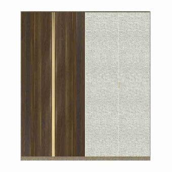 ซีรีย์ตู้เสื้อผ้า ซีรีย์ตู้ผ้า WD Plus รุ่น Wardrobe Plus สีสีเงิน-SB Design Square