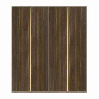 ซีรีย์ตู้เสื้อผ้า ซีรีย์ตู้ผ้า WD Plus รุ่น Wardrobe Plus สีสีลายไม้ธรรมชาติ-SB Design Square