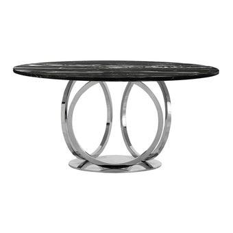 โต๊ะอาหาร รุ่น DN-SB05 สี Classico Nero Marquina