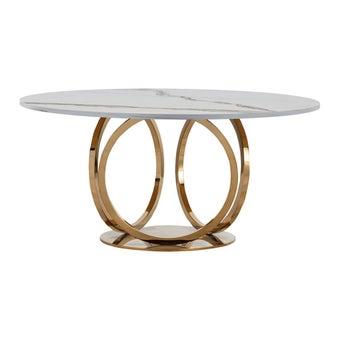 โต๊ะอาหาร รุ่น DN-SB05 สี Classico Statuario-00