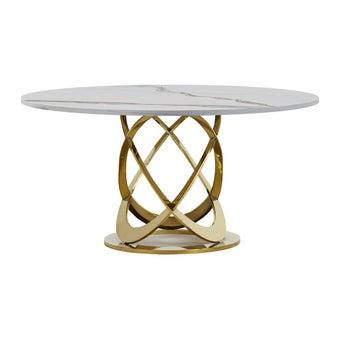 โต๊ะอาหาร รุ่น DN-SB06M สี Classico Statuario-00