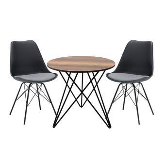 ชุดโต๊ะอาหาร รุ่น Linne & เก้าอี้ รุ่น Ashira