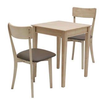 โต๊ะทานอาหาร โต๊ะอาหารไม้ล้วน รุ่น Tersely-SB Design Square
