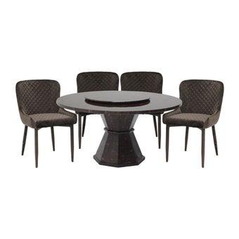 โต๊ะทานอาหาร โต๊ะอาหารหินล้วน รุ่น Faro-SB Design Square