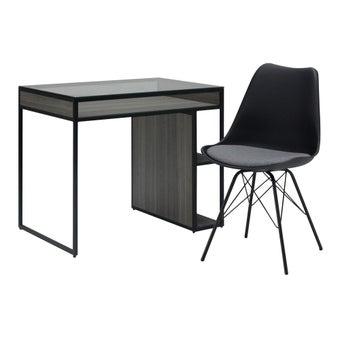 ชุดโต๊ะอาหาร รุ่น Nardeen & เก้าอี้ รุ่น Ashira