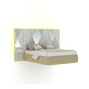 เตียงนอน รุ่น Arbalone (LED)
