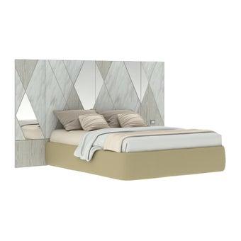 เตียงนอน รุ่น Arbalone (No LED)