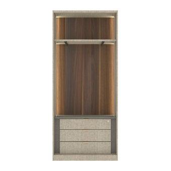ซีรีย์ตู้เสื้อผ้า ซีรีย์ตู้ผ้า WD Plus รุ่น Wardrobe Plus สีสีอ่อน-SB Design Square