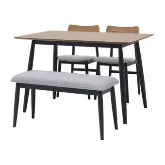 โต๊ะทานอาหาร รุ่น M-Pazo สีสีเทา-SB Design Square