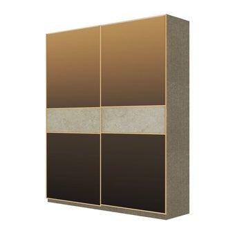 Wardrobe Prime ตู้เสื้อผ้าบานเลื่อน รุ่น Wardrobe Prime สีสีครีม-SB Design Square