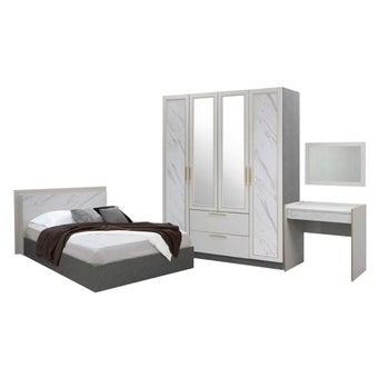 ชุดห้องนอน รุ่น Florence สีขาว01