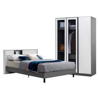 ชุดห้องนอน ขนาด 5 ฟุต รุ่น Prais & WD134-01