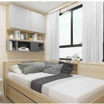 ชุดห้องนอน ชุดห้องนอน รุ่น Log สีสีโอ๊ค-SB Design Square