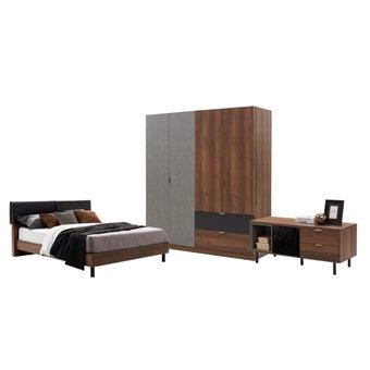 ชุดห้องนอน ขนาด 6 ฟุต รุ่น Tavern สีลายไม้ธรรมชาติ01