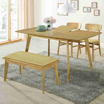 โต๊ะอาหาร รุ่น Yukari สีโอ๊ค