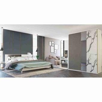 ชุดห้องนอน ขนาด 5 ฟุต รุ่น Spazz สีขาว-02