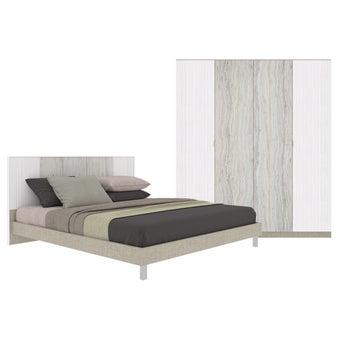 Bedroom Sets Bedroom Set(6 ft.) Ezra-00