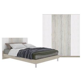 Bedroom Sets Bedroom Set(5 ft.) Ezra-00
