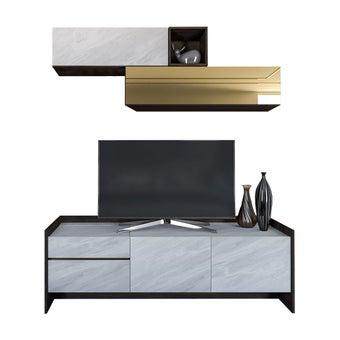 ชุดวางทีวี ขนาด 180 ซม. รุ่น Infinity-01