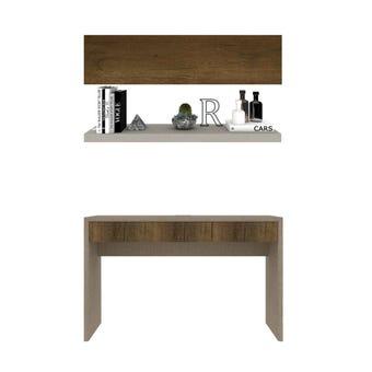 ชุดโต๊ะทำงาน ขนาด 120 ซม. รุ่น Spazz&Infinity