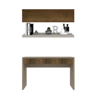 ชุดโต๊ะทำงาน ขนาด 120 ซม. รุ่น Spazz&Infinity-01
