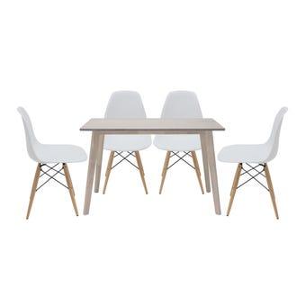 ชุดโต๊ะอาหาร รุ่น Wediya & เก้าอี้ Soto