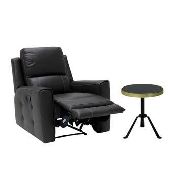 เก้าอี้พักผ่อน Lucier-Plus & โต๊ะข้าง Annew