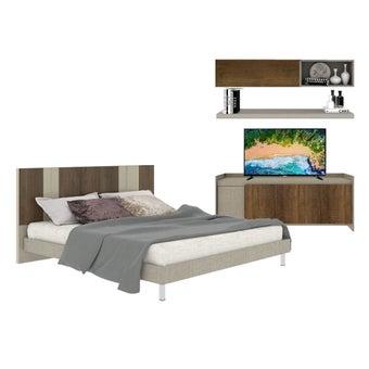 ชุดห้องนอน Estano + ชุดวางทีวี Infinity