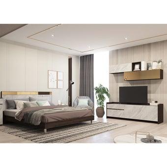ชุดห้องนอน Reiss + ชุดวางทีวี Reiss-01