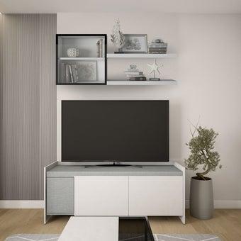 ชุดชั้นวางทีวี ขนาด 150 ซม. รุ่น Infinity