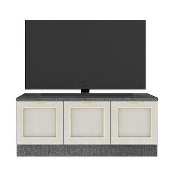 ชั้นวางทีวี รุ่น Contini สีขาว01