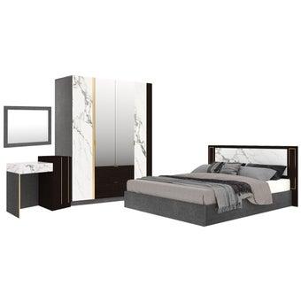 ชุดห้องนอน ขนาด 5 ฟุต รุ่น Maribor สีเทา01