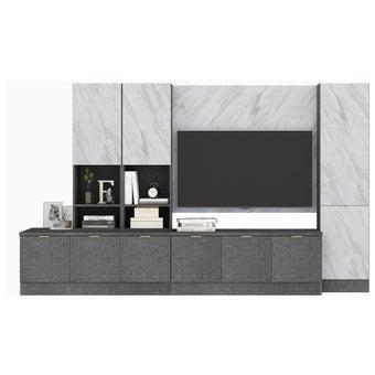 ชุดวางทีวีและตู้โชว์ รุ่น Contini-00