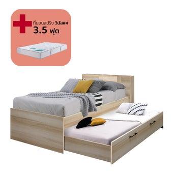ชุดห้องนอน ขนาด 3.5 ฟุต รุ่น Studeo สีโอ๊ค01