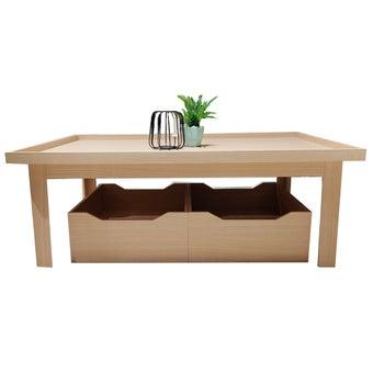 โต๊ะกลาง รุ่น KC Limited สีโอ๊ค01