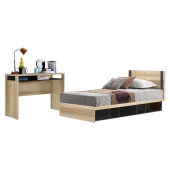 ชุดห้องนอน ขนาด 3.5 ฟุต รุ่น Patinal สีโอ๊ค01
