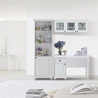 ชุดโต๊ะทำงาน ไซส์ M รุ่น Melona สีขาว01