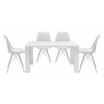 ชุดโต๊ะอาหาร รุ่น Team และ เก้าอี้ รุ่น Ashira-00