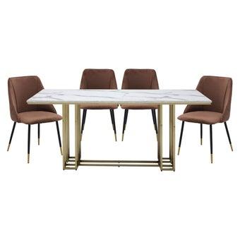 ชุดโต๊ะอาหาร รุ่น Lloyds & เก้าอี้ รุ่น Lamy-00