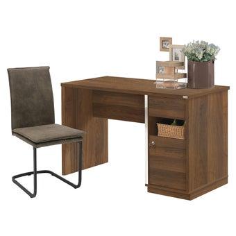 ชุดโต๊ะทำงาน ขนาด 120 ซม. รุ่น Zereno สีลายไม้ธรรมชาติ01