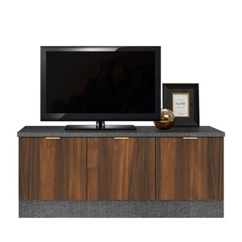 ชั้นวางทีวี รุ่น Contini สีไม้เข้ม01