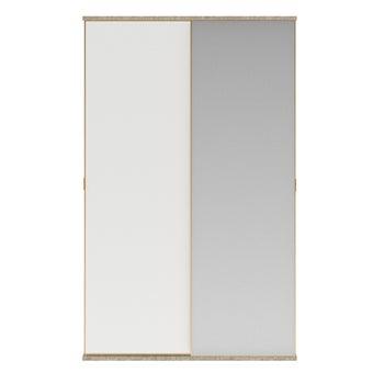 ตู้เสื้อผ้า ขนาด 160 ซม. รุ่น Wardrobe Prime สีขาว01